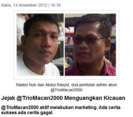Twitter @TrioMacan2000 Raden Nuh Abdul
